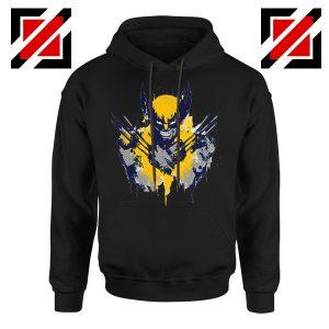 Marvel X-Men Characters Hoodie Wolverine Film Hoodie Size S-2XL Black