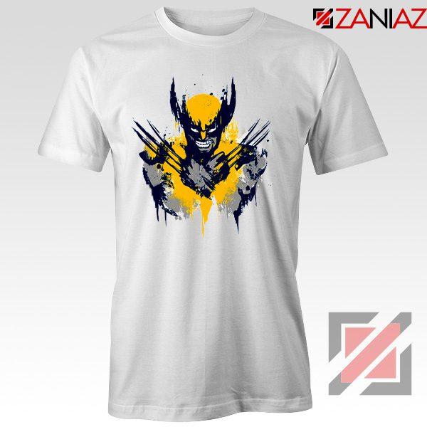 Marvel X-Men Characters T-Shirt Wolverine Film T-shirt Size S-3XL White