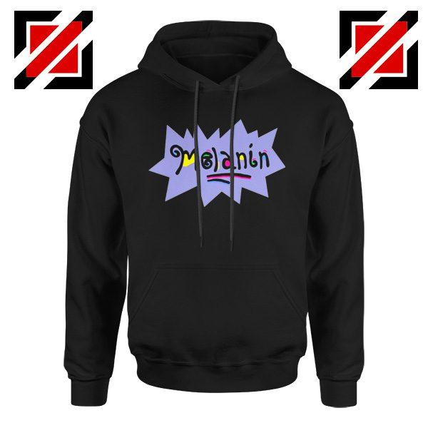 Melanin Rugrats Hoodie Rugrats TV Series Hoodie Size S-2XL Black