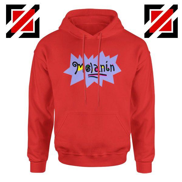 Melanin Rugrats Hoodie Rugrats TV Series Hoodie Size S-2XL Red