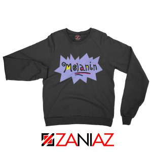Melanin Rugrats Sweatshirt Rugrats TV Series Sweatshirt Size S-2XL Black