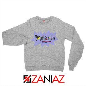 Melanin Rugrats Sweatshirt Rugrats TV Series Sweatshirt Size S-2XL Sport Grey
