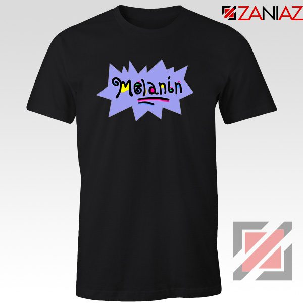 Melanin Rugrats T-Shirt Rugrats TV Series T-Shirt Size S-3XL Black