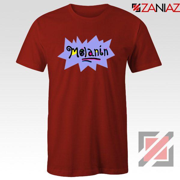 Melanin Rugrats T-Shirt Rugrats TV Series T-Shirt Size S-3XL Red