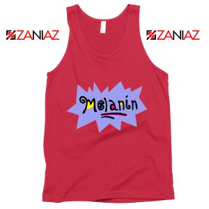 Melanin Rugrats Tank Top Rugrats TV Series Tank Top Size S-3XL Red