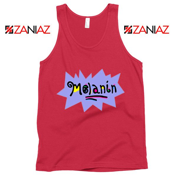 Melanin Rugrats Tank Top Rugrats TV Series Tank Top Size S-3XL Red