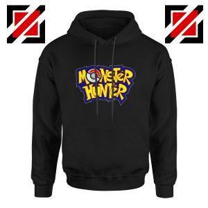 Monster Hunter Pokemon Hoodie Pocket Monsters Hoodie Size S-2XL Black