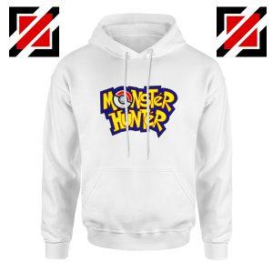 Monster Hunter Pokemon Hoodie Pocket Monsters Hoodie Size S-2XL White