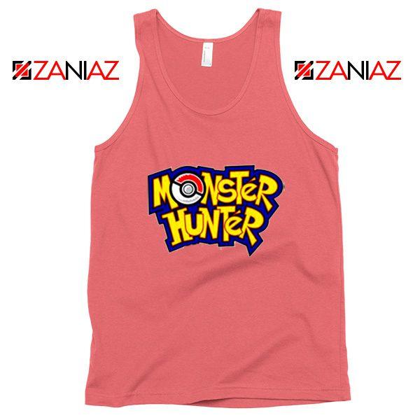 Monster Hunter Pokemon Tank Top Pocket Monsters Tank Top Coral