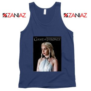 Mother of Dragons Tank Top Daenerys Game of Thrones Tank Top Navy Blue
