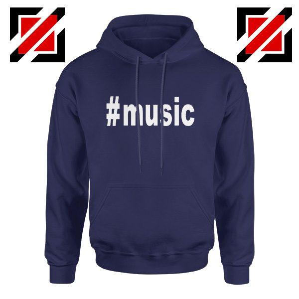 Music Hashtag Best Hoodie Music Women's Hoodie Size S-2XL Navy