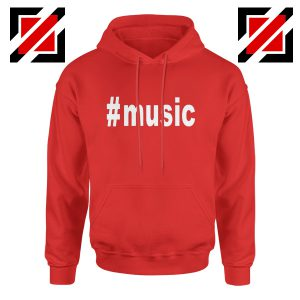 Music Hashtag Best Hoodie Music Women's Hoodie Size S-2XL Red