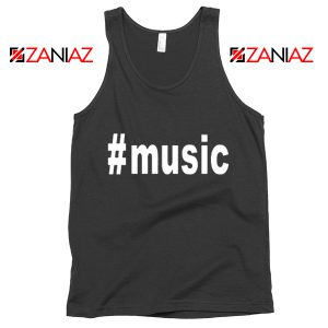 Music Hashtag Best Tank Top Music Women's Tank Top Size S-3XL Black