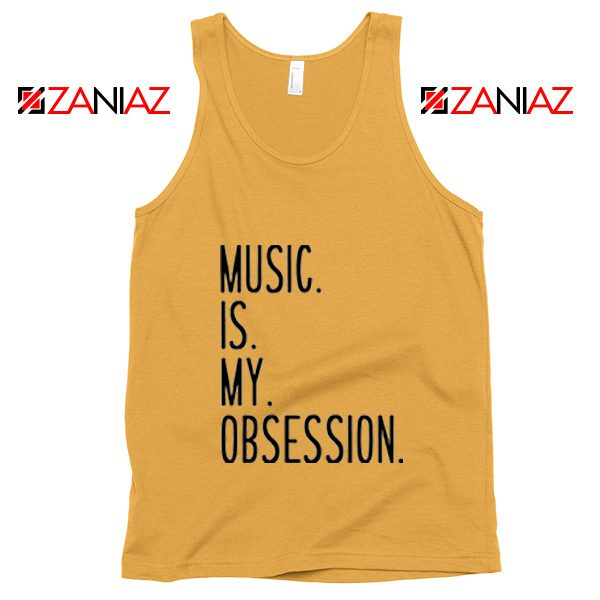 Music Is My Obsession Tank Top Funny Music Saying Tank Top Sunshine