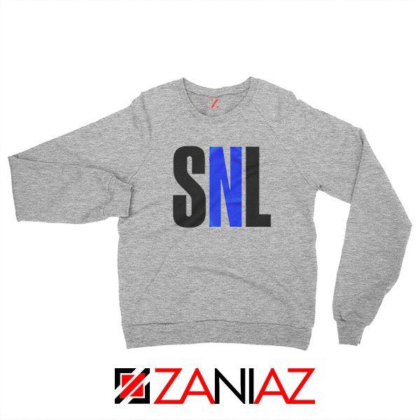 NBC's Saturday Night American Late Night Television Sweatshirt Sport Grey