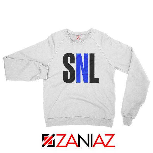 NBC's Saturday Night American Late Night Television Sweatshirt White