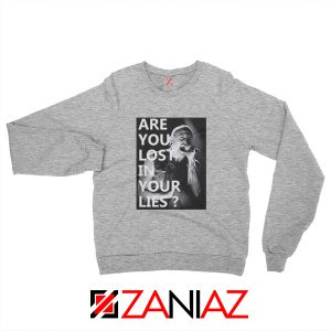 No More Sorrow Lyric Sweatshirt Linkin Park Best Sweatshirt Size S-2XL Sport Grey