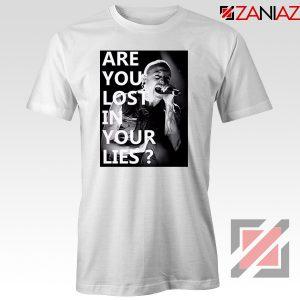 No More Sorrow Lyric Tshirt Linkin Park Best Tshirts Size S-3XL White