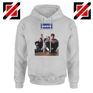 Oasis Band Members Hoodie Oasis Music Band Hoodie Size S-2XL Sport Grey