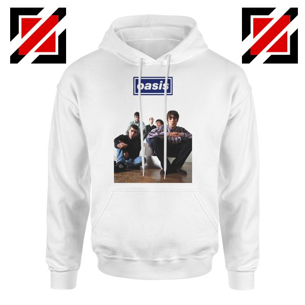 Oasis Band Members Hoodie Oasis Music Band Hoodie Size S-2XL White