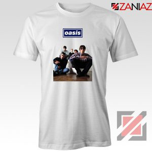 Oasis Band Members T-Shirts Oasis Music Band T-Shirts Size S-3XL White