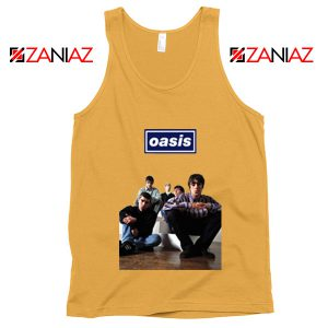 Oasis Band Members Tank Top Oasis Music Band Tank Top Size S-3XL Sunshine