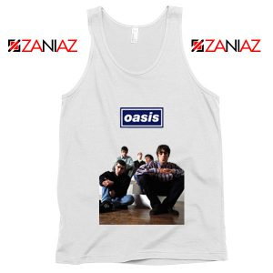 Oasis Band Members Tank Top Oasis Music Band Tank Top Size S-3XL White