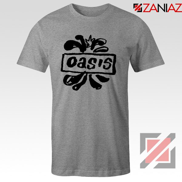 Oasis English Rock Band T-Shirts Oasis Band Cheap T-Shirts Size S-3XL Grey