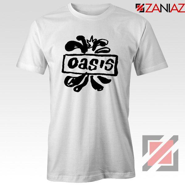 Oasis English Rock Band T-Shirts Oasis Band Cheap T-Shirts Size S-3XL White