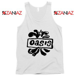 Oasis English Rock Band Tank Top Oasis Band Tank Top Size S-3XL White