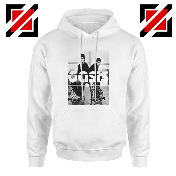 Oasis Music Rock Band Hoodie Oasis UK Band Hoodie Size S-2XL White