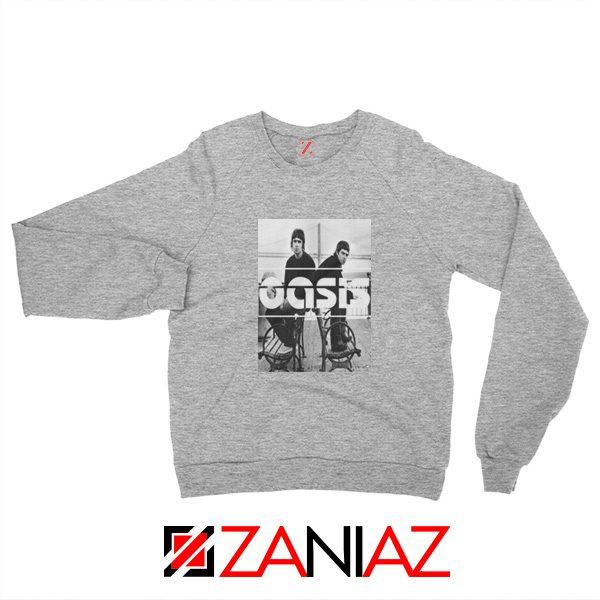 Oasis Music Rock Band Sweatshirt Oasis UK Band Sweatshirt Size S-2XL Grey