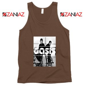 Oasis Music Rock Band Tank Top Oasis UK Band Tank Top Size S-3XL Brown
