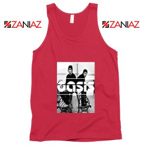 Oasis Music Rock Band Tank Top Oasis UK Band Tank Top Size S-3XL Red