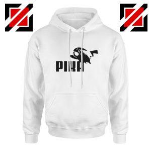 Pika Hoodie Pokemon and Puma Parody Best Hoodie Size S-2XL White
