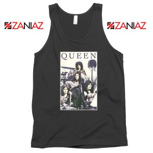 Queen Band Frame Tank Top Music Rock Band Tank Top Size S-3XL Black