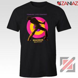 Queen Fearless T-shirt Queen Rock Band T-Shirt Size S-3XL Black
