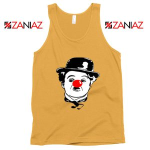 Red Nose Day Charlie Chaplin Tank Top Comic Relief Tank Top Size S-3XL Sunshine