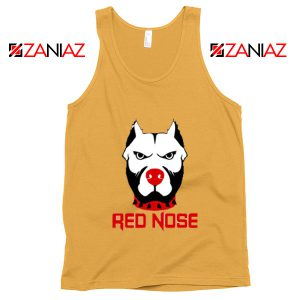 Red Nose Day Pitbull Dog Tank Top Comic Relief Tank Top Size S-3XL Sunshine