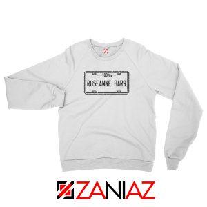 Roseanne Barr 100 Percent Comedian Best Sweatshirt Size S-2XL White