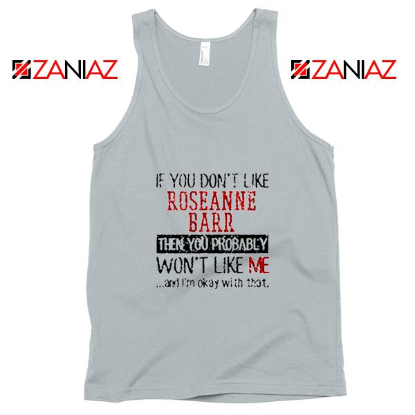 Roseanne Barr American Stand up Comedian Tank Top Size S-3XL Silver