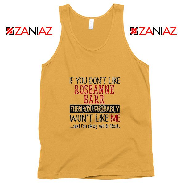 Roseanne Barr American Stand up Comedian Tank Top Size S-3XL Sunshine
