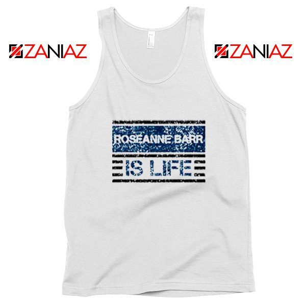 Roseanne Barr Tank Top American Actress Tank Top Size S-3XL White