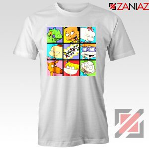 Rugrats Character Grid T-Shirt Televion Series T-Shirt Size S-3XL White