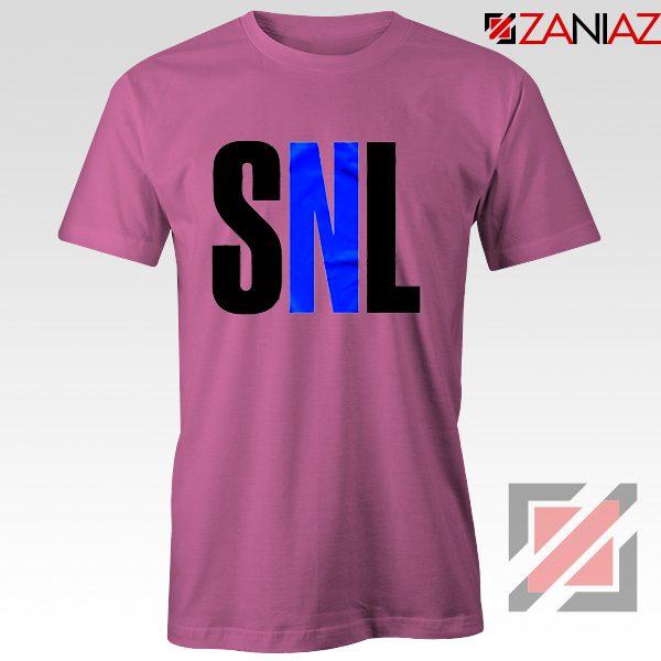 Saturday Night Live Tee Shirt American Late Night Television Tshirt Pink