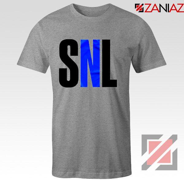 Saturday Night Live Tee Shirt American Late Night Television Tshirt Sport Grey