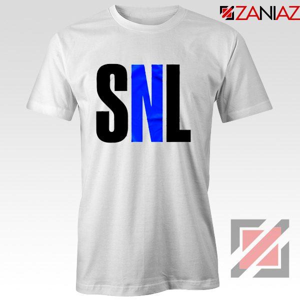 Saturday Night Live Tee Shirt American Late Night Television Tshirt White