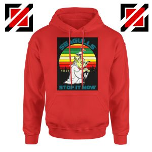 Seagulls Stop It Now Hoodie Bad Lip Reading Hoodie Size S-2XL Red