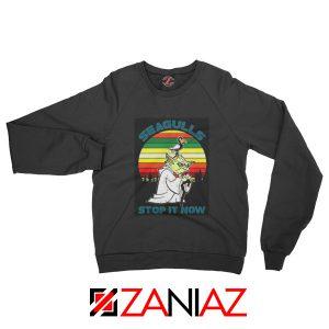 Seagulls Stop It Now Sweatshirt Bad Lip Reading Sweatshirt Size S-2XL Black