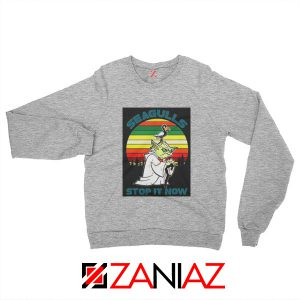 Seagulls Stop It Now Sweatshirt Bad Lip Reading Sweatshirt Size S-2XL Grey